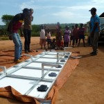 Assembling solar panels