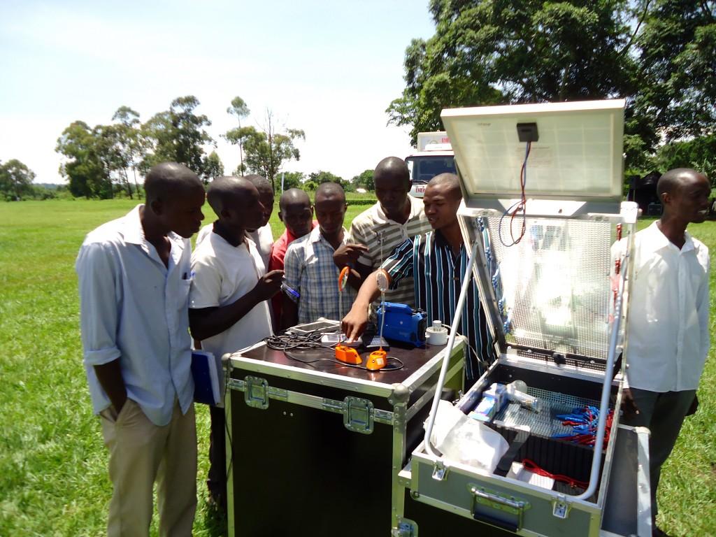 Establishment of Solar Club in Kaliro