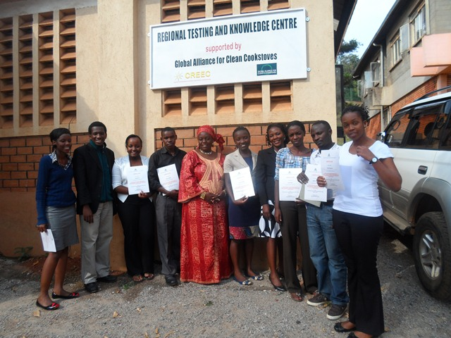 Participants in the training with facilitators