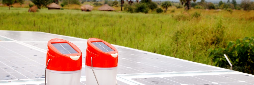 solar lamp and module